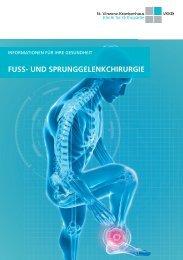 Fuss- und Sprunggelenkchirurgie