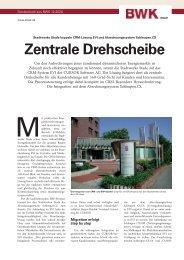 Schleupen-Integration: Zentrale Drehscheibe BWK 12/20