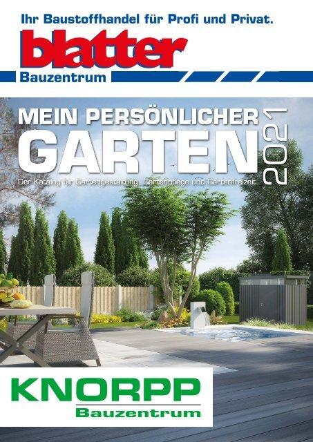 Gartenkatalog 2021 - Holz im Garten - Blatter