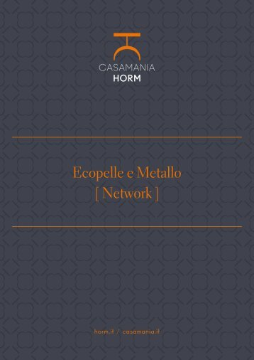 Ecopelle e Metallo [Network] [it]