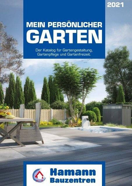 Gartenkatalog 2021 - Holz im Garten - Hamann