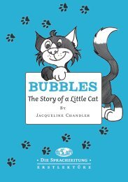 Bubbles – The Story of a Little Cat
