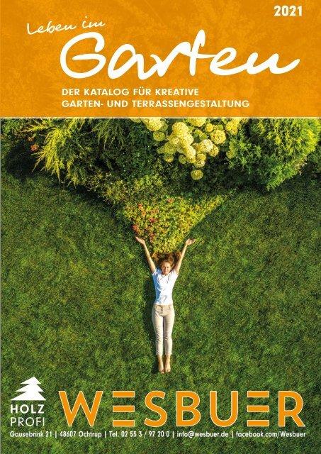 Gartenkatalog 2021 - Holz im Garten - Wesbuer