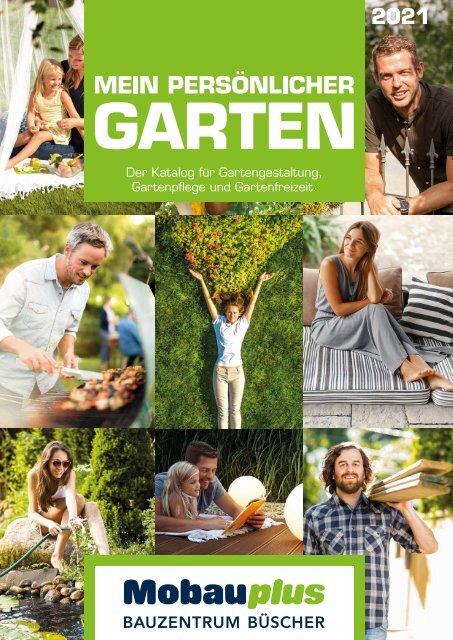 Gartenkatalog 2021 - Holz im Garten - Büscher