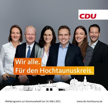Broschüre CDU Hochtaunus