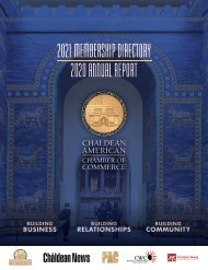 CACC 2020 Annual Report and 2021 Directory