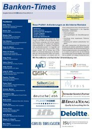 Banken -Times - ralf barsch - advanced audit solutions