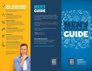 Men's Maintenance Guide