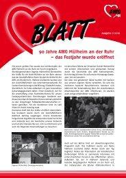 90 Jahre AWO Mülheim an der Ruhr – das Festjahr wurde eröffnet