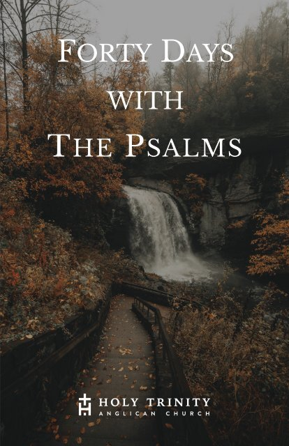 Forty Days with the Psalms