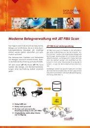Moderne Belegverwaltung mit JET FIBU Scan - Data Systems Austria