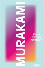 Leseprobe_Murakami_Erste Person Singular