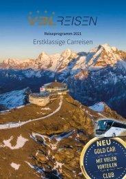 Reiseprogramm 2021