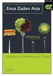 Enza Zaden Asia Highland   Greenhouse Crops 2020