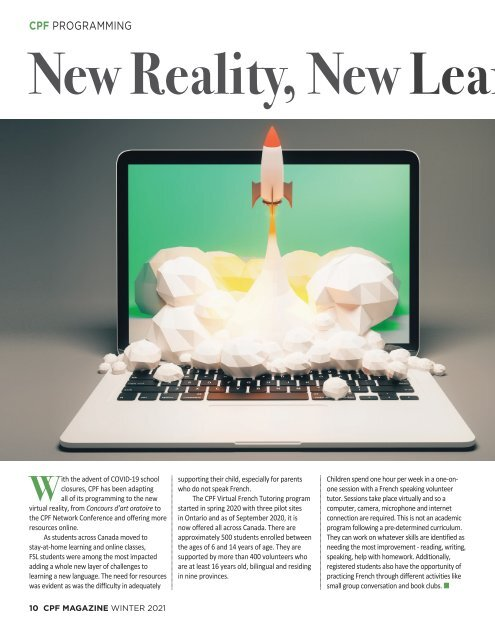 CPF Magazine Winter 2021 Issue