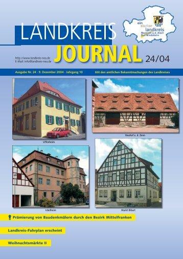 Amtsblatt - Landkreis Neustadt an der Aisch - Bad Windsheim