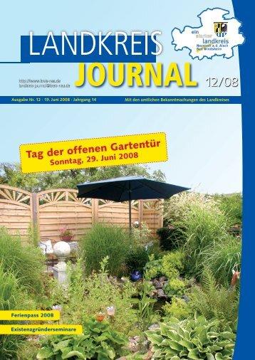 Amtsblatt Amtliche Mitteilungen des Landkreises Neustadt ad Aisch
