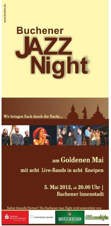 Jazz Night Flyer zweiseitig.cdr - Goldener Mai in Buchen