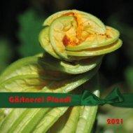 Garten 2021 - Gärtnerei Pfandl - yumpu-online