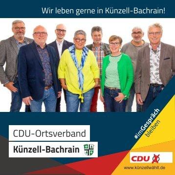 Ortsteilflyer Künzell-Bachrain