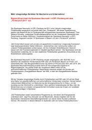 Lichtmess-Bäuerinnentag am 01 - Sparkasse Neumarkt i d OPf ...