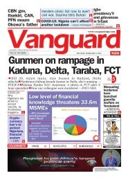 08022021 - Gunmen on rampage in Kaduna, Delta, Taraba, FCT