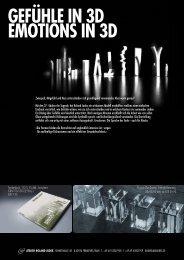 GEFÜHLE IN 3D EMOTIONS IN 3D - ROLAND JUDEX