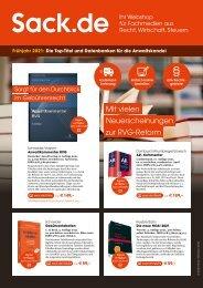 Frühjahr 2021: Die Top-Titel und Datenbanken für die Anwaltskanzlei