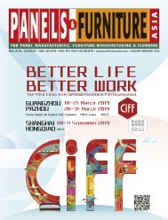 Panels & Furniture Asia January/February 2019