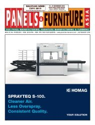 Panels & Furniture Asia July/August 2019