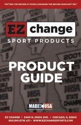 EZ Change Sports Product Catalog