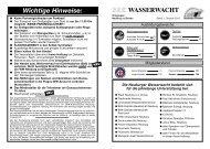 Wichtige Hinweise - beim Bürgernetz Neuburg-Schrobenhausen