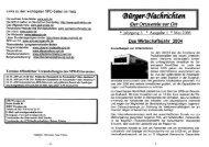 Ausgabe 1 Mai 2005 - SPD Wernigerode