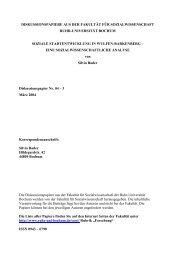 4 Wulfen-Barkenberg - Fakultät für Sozialwissenschaft der Ruhr ...