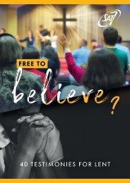 SAT-7 Lent Testimony Booklet