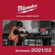 Programmübersicht Milwaukee 2021-22