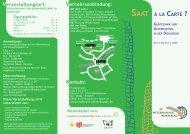 à la carte - Witzenhäuser Konferenz