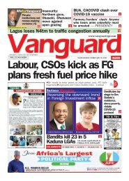 10072021 - Labour, CSOs kick as FG plans fresh fuel price hike