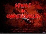Gewalt in Computerspielen - PC Games Hardware Extreme
