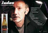 Judas-Kulturmagazin Weihnachten 2011