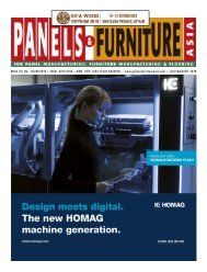 Panels & Furniture Asia July/August 2018
