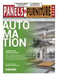 Panels & Furniture Asia November/December 2018