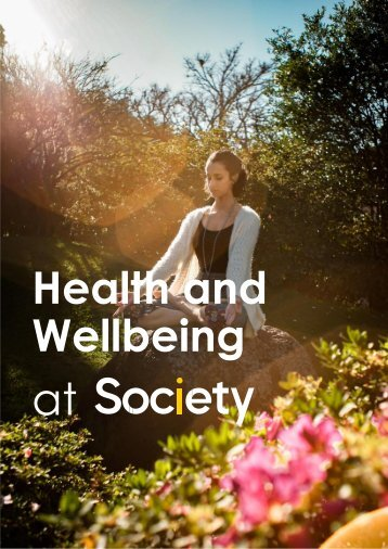 Health and Wellbeing at Society