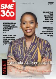 FEBRUARY 2021 - MADE IN AFRICA ISSUE