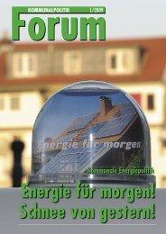 Kommunale Energiepolitik - GAR NRW
