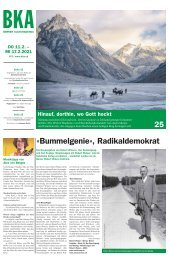 Berner Kulturagenda N°5