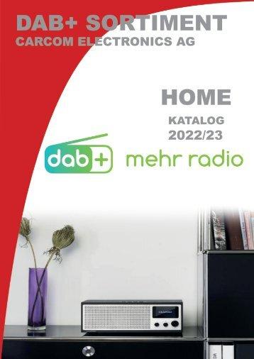 DAB Katalog Home CarCom electronics