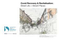 DCSDC Covid Recovery & Revitalisation Street Life & Vibrant Places