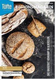 Töfte Regionsmagazin 02/2021 - Jetzt geht's um Brot!