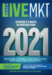 Revista Live Marketing Edição 37 - 2021